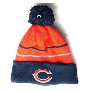 Chicago Bears NFL fleece lined New Era beanie hat